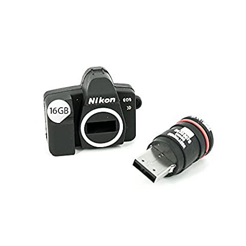 USB Stick 16 GB Mini Nikon Spiegelreflex Kamera