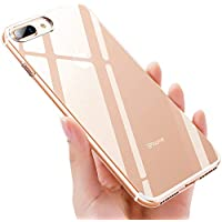 iKALULA iPhone 8 Plus Handyhülle Silikon, Crystal iPhone 7 Plus Schutzhülle, Ultra Dünn Kratzfest Stoßfest TPU Hülle Durchsichtige Klar Case Cover für iPhone 7 Plus/iPhone 8 Plus- Transparent, 1 Pack preisvergleich bei kinderzimmerdekopreise.eu