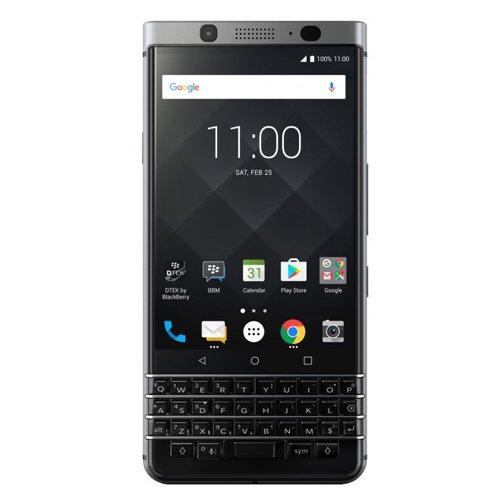 BlackBerry KEYone Smartphone Silver Edition 4G, RAM 3GB, Memoria 32GB...
