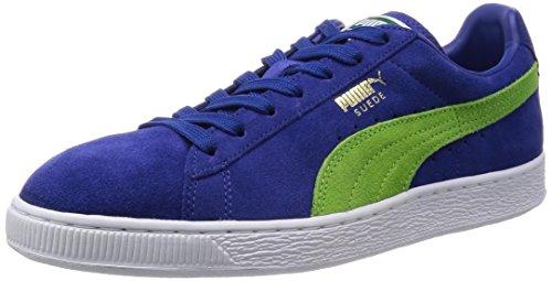Puma Classic, Baskets Basses mixte adulte Bleu (Limoges/Jasmine Green/White)