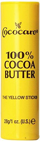 Cococare, 100% Cocoa Butter, Die Gelben Stick 1 Unze (28 g) - 100% Cocoa Butter Stick