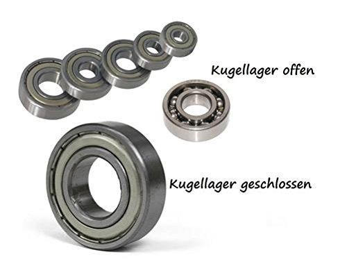 Kugellager 6001 RS // 28x12x8 (Kugellager Motor)