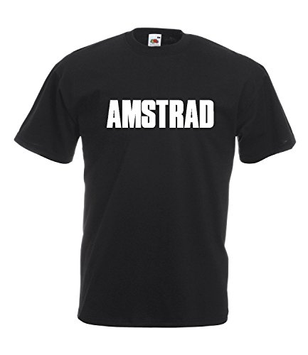 Classic Amstrad 80s Logo T-shirt for Men - S to 2XL