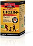 Litozin Plus 100 Percent Natural Joint Care Capsules with Rosenoides and Vitamin C - Pack of 120 Capsules