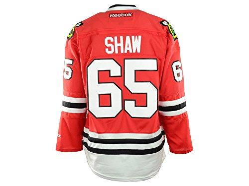 Reebok NHL Eishockey Trikot Jersey Premier Chicago Blackhawks Andrew Shaw #65 rot (XL)