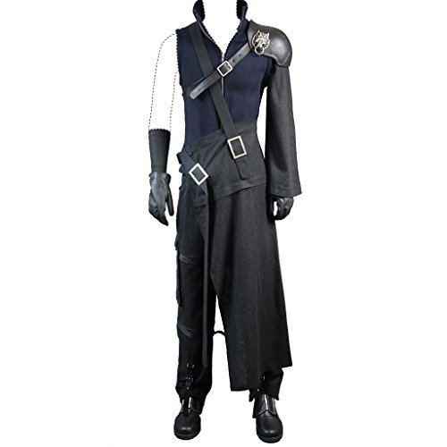 Cloud Strife Kostüm - Final Fantasy Vii: Advent Children Cloud Strife Costume Set US Men 7.5