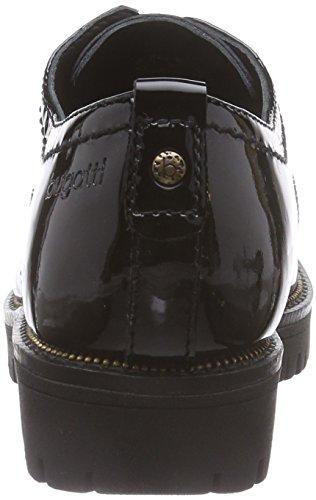Bugatti J74039K, Derbies à lacets femme Noir (Schwarz 100)