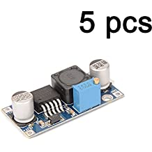 Gaoxing Tech. 5PCS DC DC Adjustable Step up boost Power Converter Module XL6009 Replace LM2577