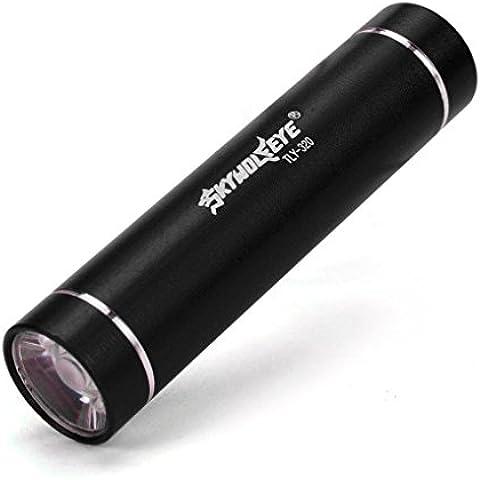 SKYWOLFEYE Torce ,Ouneed® Mini 1000LM Alto Potere della Torcia del Cree Q5 LED Tactical Flashlight AA Luce della Lampada (Nero)