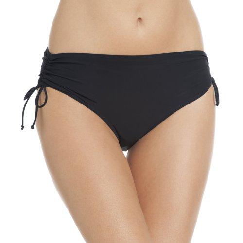Rosa Faia Damen Ive Bottom Bikinihose, schwarz, 42