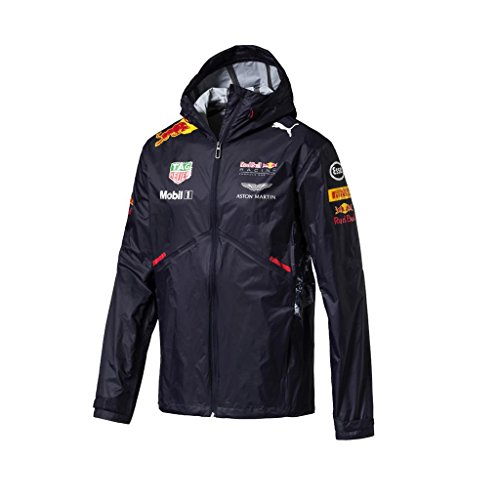 Puma Red Bull Racing Formel 1 Regenjacke Dunkelblau