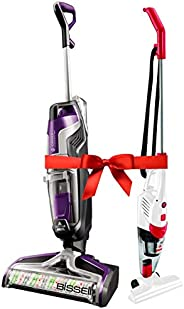 Bissell Crosswave Cordless Pet, 2588E + FREE Bissell Featherweight 2024 2in1 upright Vacuum Combo offer
