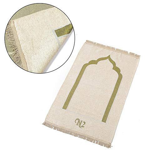 Gebetsteppich Gebetsdecke Moslemischer Gebets Anbetungs Retro Teppich Chenille für Das Gebet Im Islam Qualitativ Verpackt Perfekt Als Geschenk - Islam-teppich