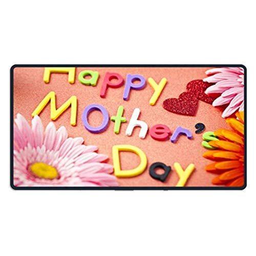 ASKSSD Large Mouse Pad Happy Mother Acirc Euro s Day Computer Mouse Mat