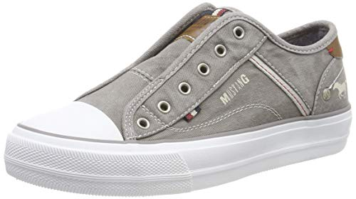 Mustang Damen 1272-401-2 Slip On Sneaker, Grau (Grau 2), 41 EU 2 Slip-ons