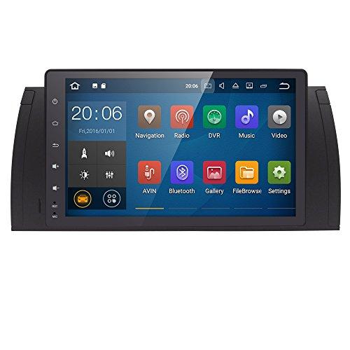 22,9cm Quad Core Android 7.1Autoradio Doppel DIN Stereo für BMW E395Serie unterstützt GPS Navigation SWC Auto Radio Audio Video iPod WiFi 4G USB SD cam-in OBD2DAB + (H264 Video-ipod)