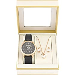 Andre Piasso APX4528L07 Ladies Gift Set, Ladies watch with matching Earrings and Necklace