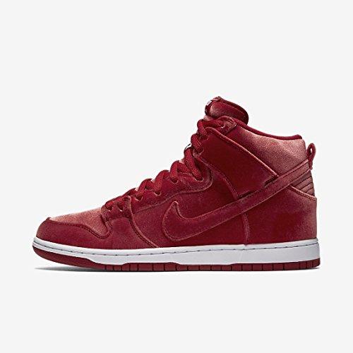 Nike 313171-661, espadrilles de basket-ball femme Rouge