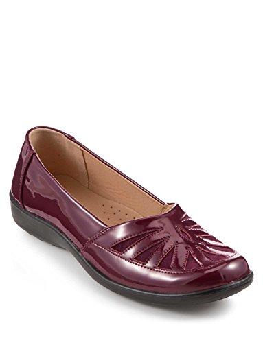 Coussin À Pied Brevet Slip Dames Chaussures Rouge
