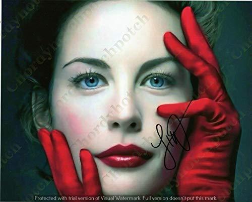 Liv Tyler - 10 - Sexy Photo Autograph Autographed photo Signed Autogramm Reprint cm 17 * 13 RP 6