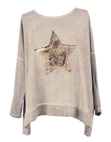 texture-online-ladies-women-italian-lagenlook-quirky-sequin-star-acid-wash-long-sleeve-thick-cotton-