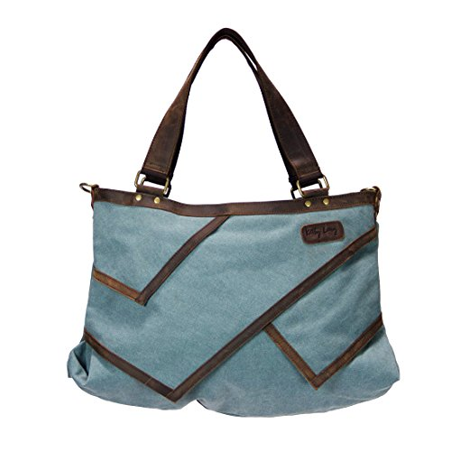 Ketty Long NATURE, Borsa a tracolla donna grigio Turchese/Blu
