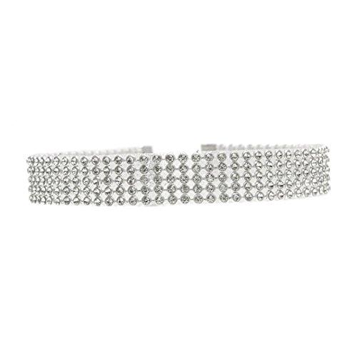 Yogogo-Voller-Diamant-Kristallrhinestone-Choker-Halsketten-Hochzeits-Schmucksachen-fr-Frauen