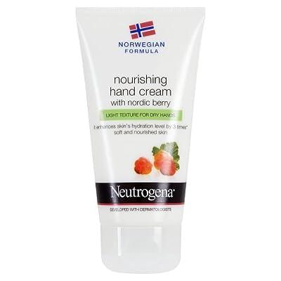 Neutrogena Norwegian Formula Nourishing Hand Cream with Nordic Berry, 75ml