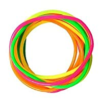 Gummy Bangles Neon 12 Bands s Jelly Wristbands Bracelets 80