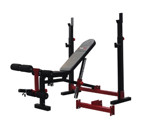 Bodymax CF520 Elite Folding Standard - Olympic Bench