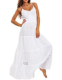 low priced fde57 263e7 Amazon.it: Vestito bianco - Stile impero / Vestiti / Donna ...