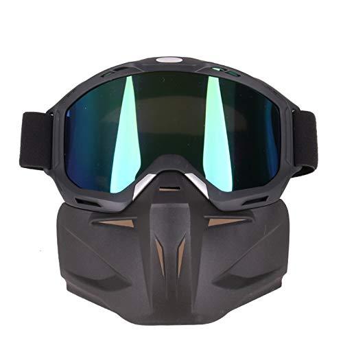 Gnzoe TPU Motorradbrillen Brillenträger Maske Rennwagen Radbrille Schutzbrillen Schießbrille...