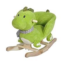 Knorrtoys 40481 - Dondolo a Forma di Dinosauro Olaf, con Effetto sonoro