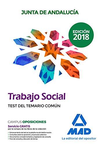 Trabajador Social  de la Junta de Andalucía. Test del temario común