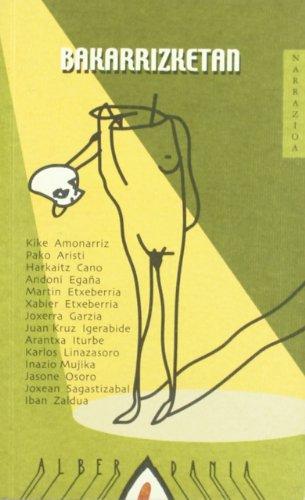 Portada del libro Bakarrizketan (Narrazioa)