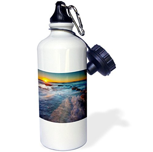 statuear-oceans-sunset-over-the-pacific-ocean-aluminum-20-ounce-600ml-sports-water-bottle-gift
