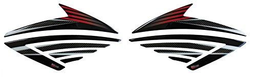 Seitentank-Pad 3D 800300 Carbon Stripes Tank-Schutz passend für Honda CBF 1000