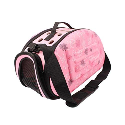 Reise-Haustier-Hundetasche-tragbare ausgehende Handtasche Kleine Hunde, die Tasche faltbaren Katzen-Rucksack-Hamster-Käfig tragen