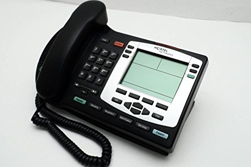Nortel I2004 Telephone Charcoal (Text w/Silver Bezel) (Certified  Refurbished)