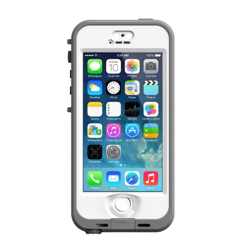 LifeProof Nuud   Funda para Apple iPhone 5/5S, blanco