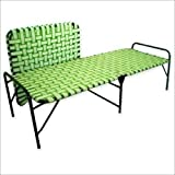 "Aaram Folding Bed Smart Niwar Strong (Medium 39""X72"" in) | Weight 7.5kg | Multicolor"