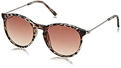 Fastrack UV Protected Round Womens Sunglasses - (C062BR3F 55 Graduated�Brown Color)