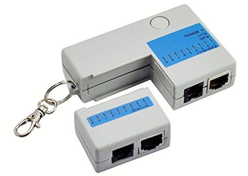 SaySure - Mini RJ45 RJ11 Cat5 Network LAN Cable Tester