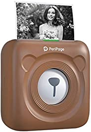 Aibecy goojprt peripage Mini Pocket Impresora térmica inalámbrica BT Image Etiquette Photo Mémo Impresora reci