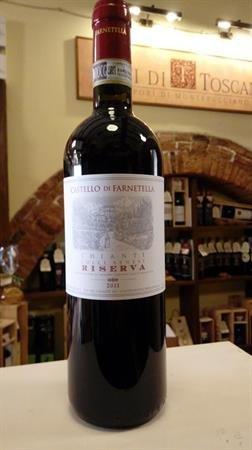 CHIANTI COLLI SENESI DOCG 2011 RISERVA FARNETELLA 0,750