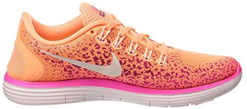 Nike Wmns Free Rn Distance, Scarpe da Corsa Donna Arancione (Naranja (Atmc Orng / White-Fr Pnk-Pnk Bls))