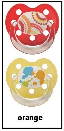 Preisvergleich Produktbild Baby Nova Beruhigungssauger Silikon mit Ring kiefergeformt Gr.3 18+ Monate bunt