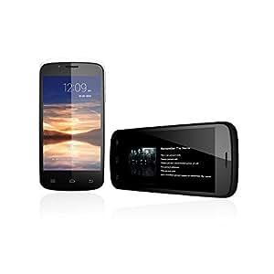 Cubot Smartphone GT 95 3G Dual Core MT6572 Handy Android 4.2 4.0'' WVGA kapazitiver Touch-Screen 512 +4 G 5MP Kamera Schwarz (mit Reinigungstuch für iMac iPhone iPad Macbook LCD-Smartphone DSLR)