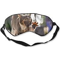 Eye Mask Eyeshade Cat Funny Posture Sleep Mask Blindfold Eyepatch Adjustable Head Strap preisvergleich bei billige-tabletten.eu