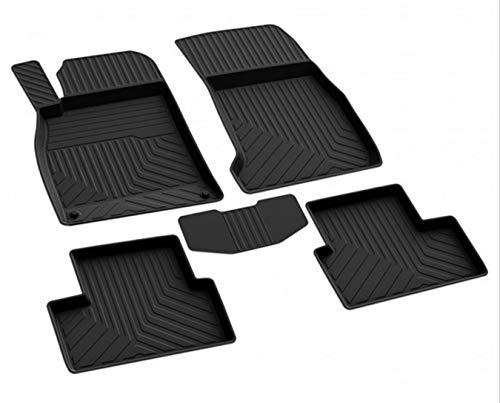 fussmattenprofi.com Tappetini per Auto Eccellente 3D su Misura Alta qualità Gomma Adatto per Mercedes A Classe (W176) 2012-2018